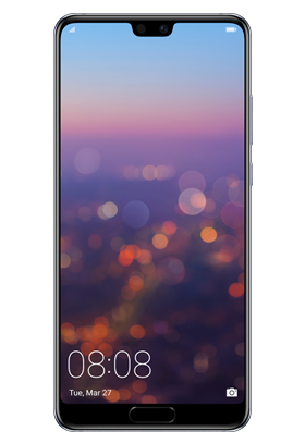 Huawei P20, modrý Single SIM