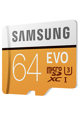 Paměťová karta Samsung 64GB Class10 s adaptérem