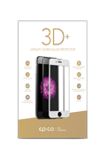 Tempered Glass Epico 3D+ iPhone 7/8 bílé