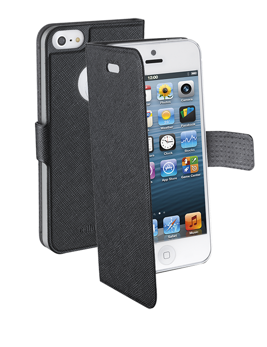 Pouzdro CellularLine Book Slim pro Apple iPhone 5/5S/SE