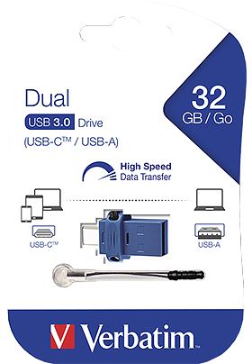 Flash Disk Verbatim 32GB USB-C 3.0