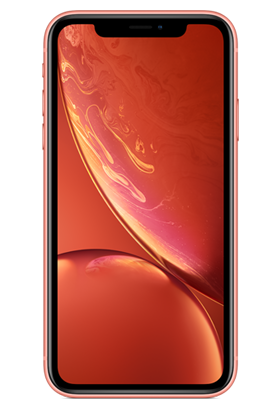 Apple iPhone XR 64GB Single SIM, korálově červená