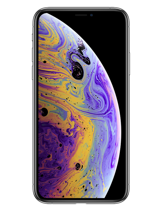 Apple iPhone XS 256GB Single SIM, stříbrná