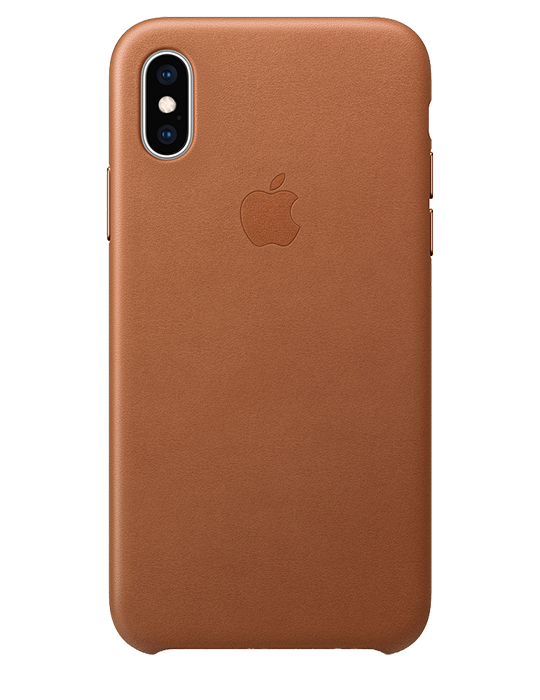 Kryt Apple iPhone XS kožený