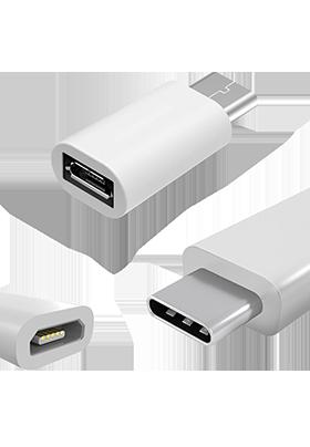 Redukce MicroUSB pro konektor USB type-C