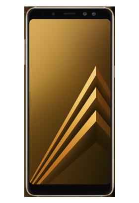 Samsung Galaxy A8 zlatý