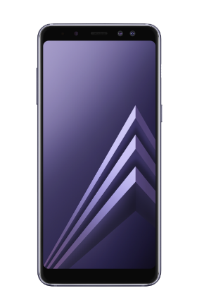 Samsung Galaxy A8 šedý