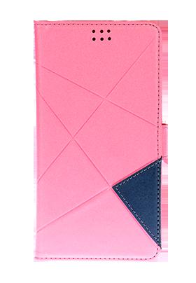 """Univerzální pouzdro Unibook Cross pro 5"""" mobilní telefony - lososová"""