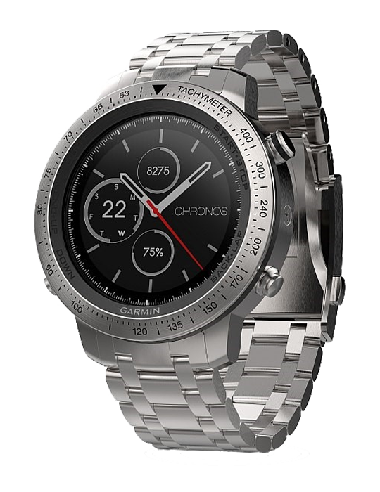 Garmin Chronos Steel Optic