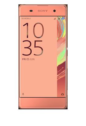 Sony Xperia XA - růžovozlatý