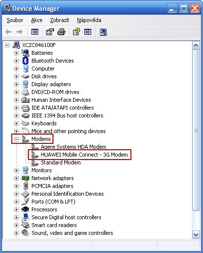 Windows XP připojení k internetu
