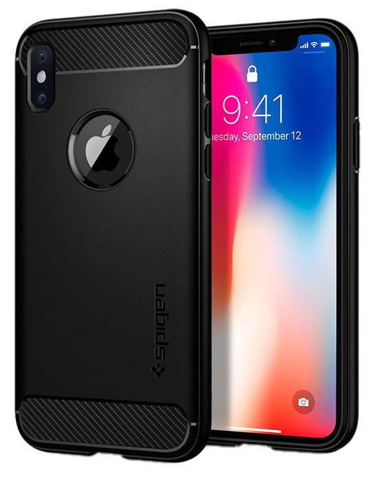 Kryt Spigen Rugged Armor iPhone X