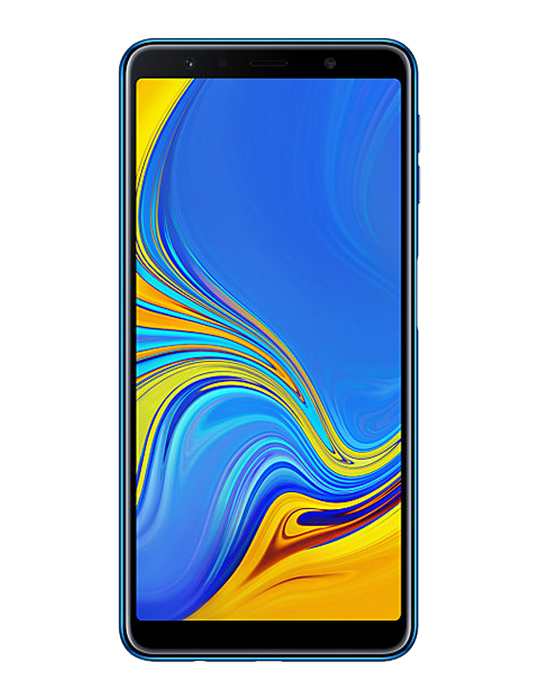 Samsung Galaxy A7 2018 64GB Single SIM, modrý