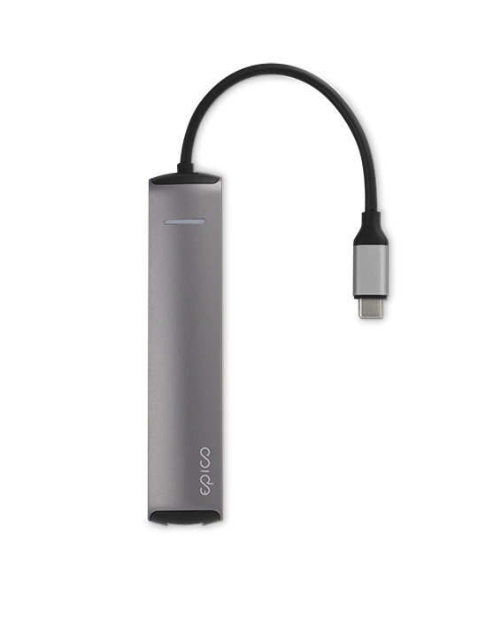 USB Type-C HUB Epico, 4K HDMI, Ethernet