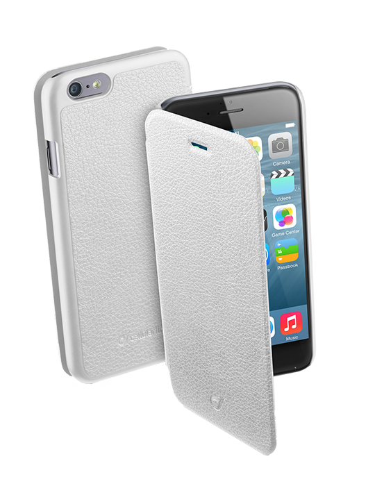Pouzdro CellularLine Book Essential pro iPhone 6/6S