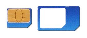 O2 Microsim S Adapterem Microsim Nanosim A Usim Karta