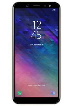 Samsung Galaxy A6 32GB Single SIM, zlatá