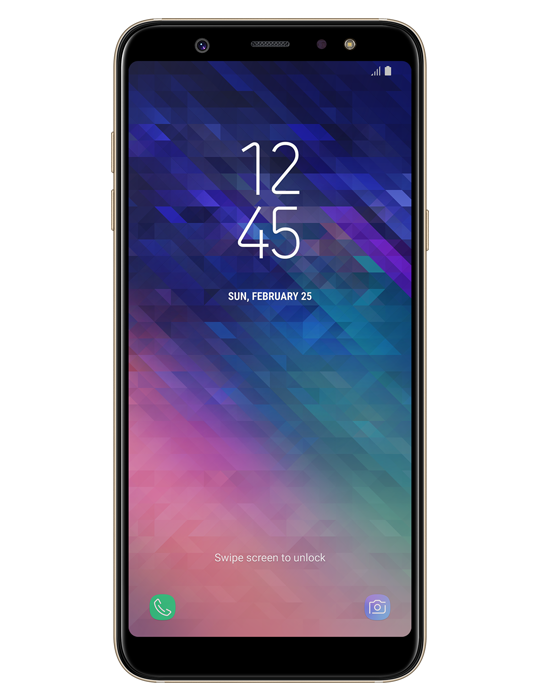 Samsung Galaxy A6+ 32GB Single SIM, zlatá
