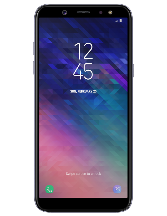 Samsung Galaxy A6 32GB Single SIM, fialová