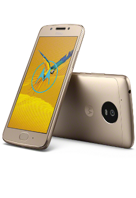 Lenovo Moto G5, zlatá Dual SIM
