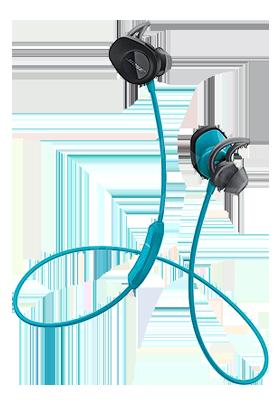 Bezdrátová Bluetooth sluchátka Bose Soundsport