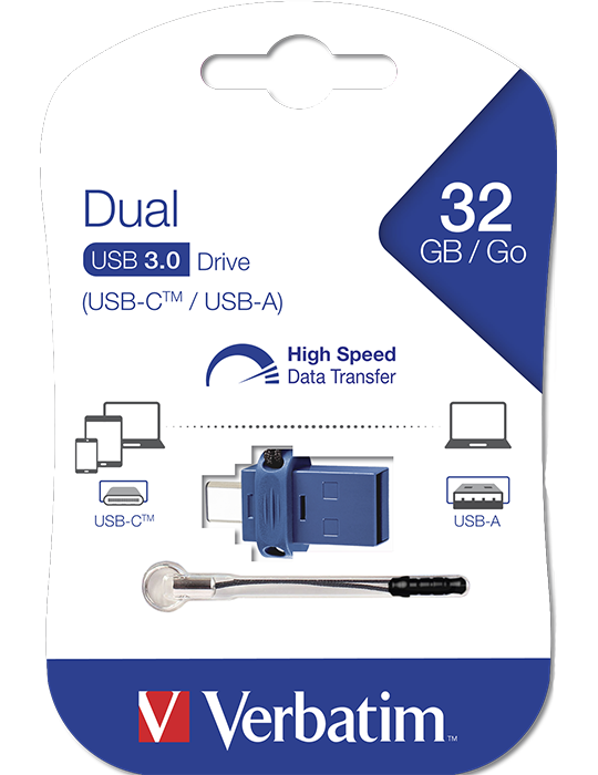 Flash Disk Verbatim 32GB Type-C USB 3.0