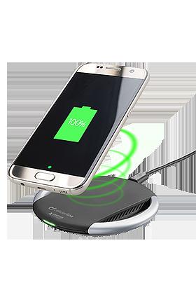 Nabíječka bezdrátová CellularLine Adapt