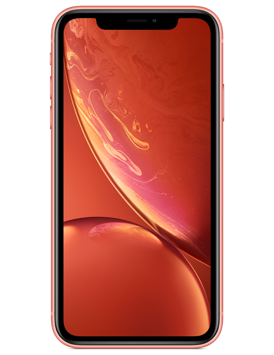 Apple iPhone XR 128GB Single SIM, korálově červená