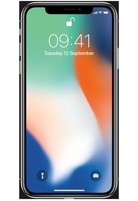 Apple iPhone X 256GB Single SIM stříbrný