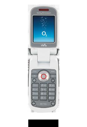 O2 Sony Ericsson W710i Technical Support