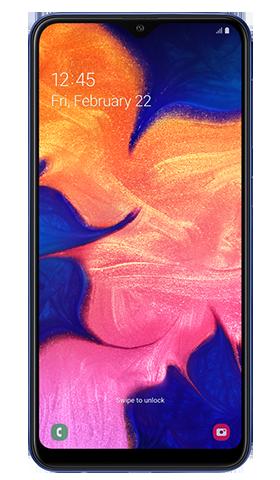 Samsung Galaxy A10 32GB Dual SIM, modrý
