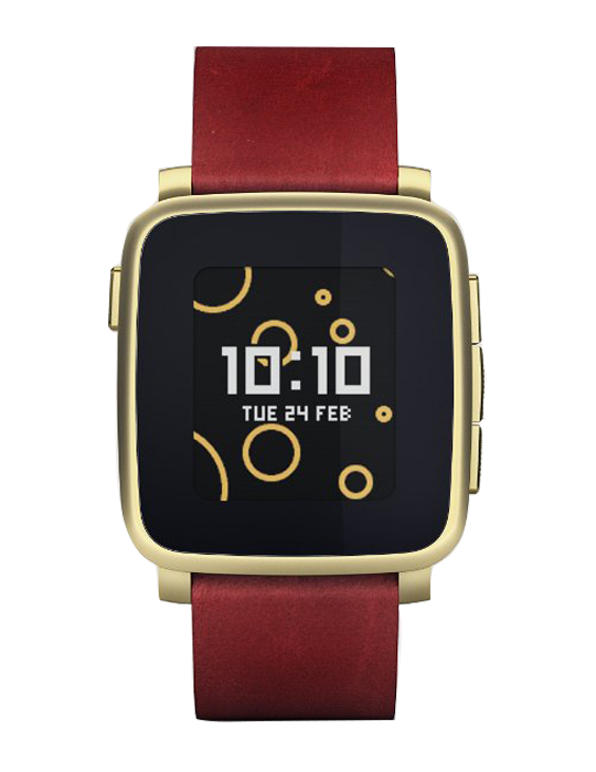 Pebble Time Steel zlaté