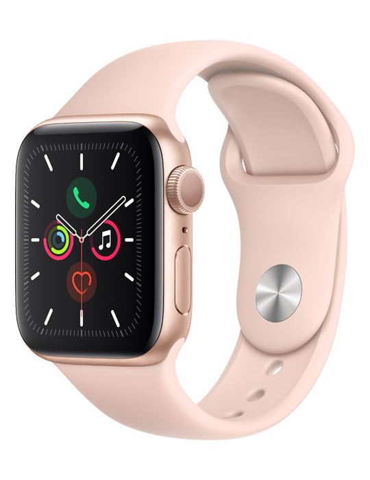 Apple Watch Series 5 Sport Band 40mm, zlatá