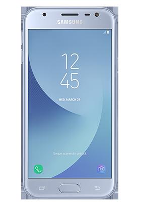 Samsung Galaxy J3 2017 stříbrný Single SIM
