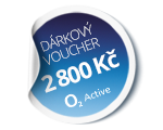 10x voucher do O2 Active