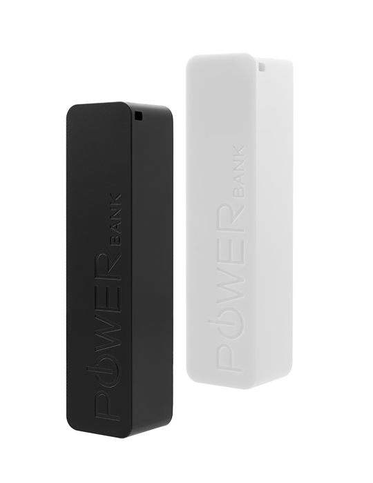 Powerbank Fixed 2 x 2600 mAh