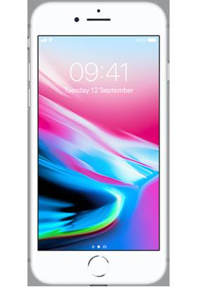 Apple iPhone 8 64GB Single SIM, stříbrný