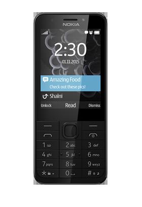 Nokia 230 štříbrnočerná