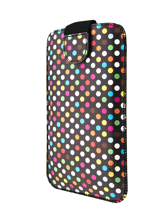 Pouzdro Fixed Soft Slim XXL Rainbow Dots
