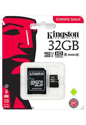 Paměťová karta Kingston 32GB s adaptérem