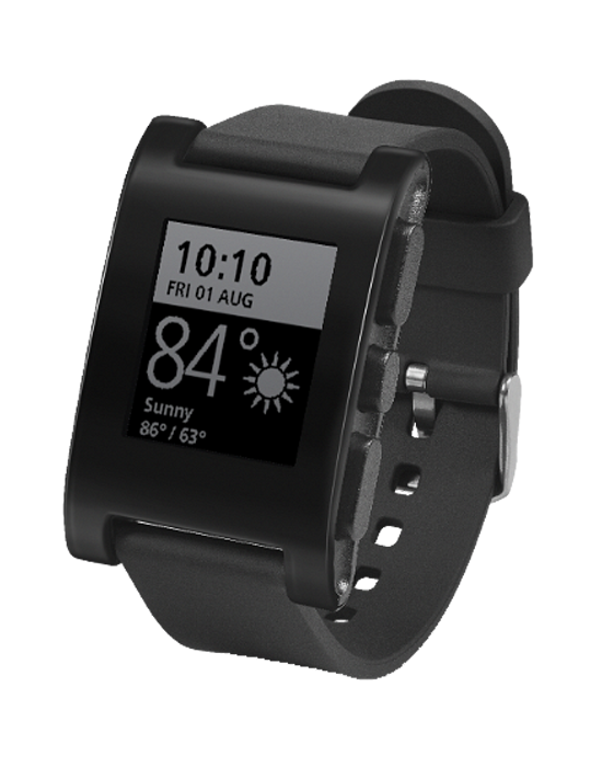 Pebble Classic Smartwatch black