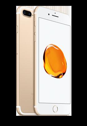 Apple iPhone 7 Plus 128GB zlatý