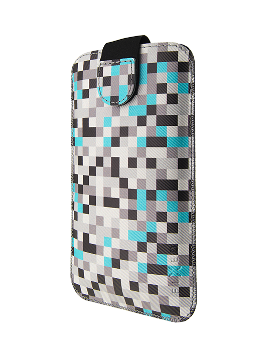 Pouzdro Fixed Soft Slim XXL Grey Dice