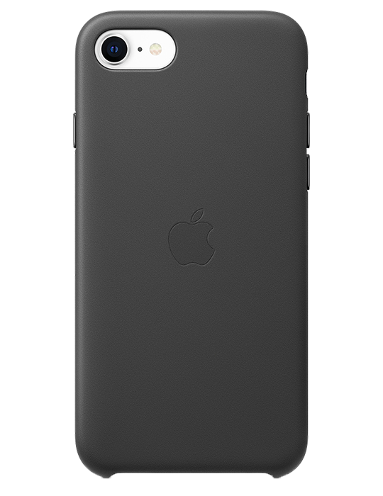 Kryt Apple Leather iPhone SE (2020)