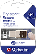 Flash Disk Verbatim Secure 64GB