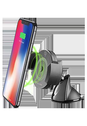 Držák do auta CellularLine – bezdrátové nabíjení