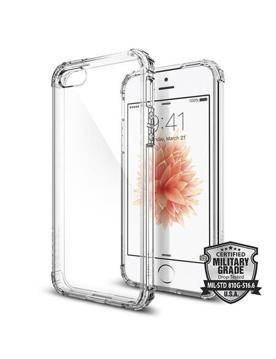 Kryt Spigen Crystal Shell iPhone 5/5s/SE