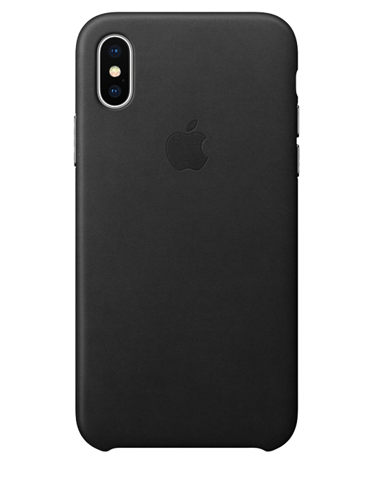 Kryt Apple iPhone X kožený