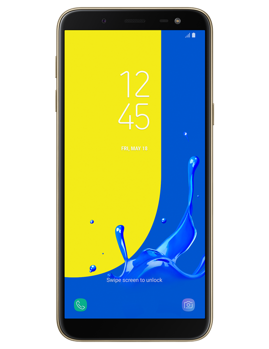 Samsung Galaxy J6 32GB Single SIM, zlatá