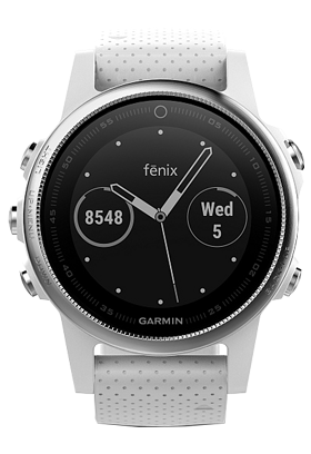 Garmin Fénix 5S Silver Optic